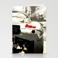1975 Stationery Cards featuring Jaguar E-TYpe by Fernando Vieira