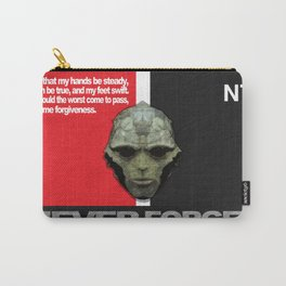 NEVER FORGET - Thane Krios - Mass Effect Carry-All Pouch