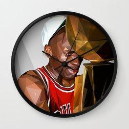 MJ THE GOAT Wall Clock