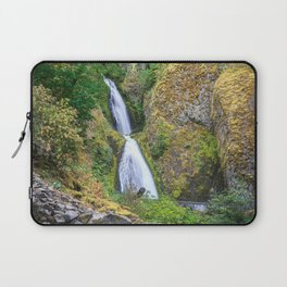 Wahkeena Falls in the Columbia River Gorge Laptop Sleeve