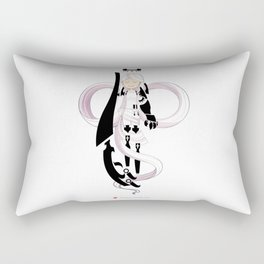 The Gentle Serpent, Ananke Rectangular Pillow