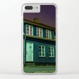 Latinerkvarteret, Aarhus, Denmark Clear iPhone Case