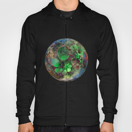 Fractal Bubbles  Hoody