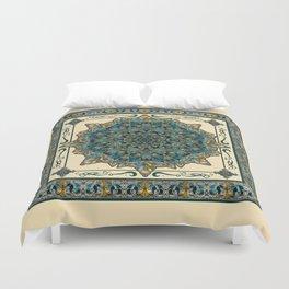 Stained Glass Mandala 2 Duvet Cover