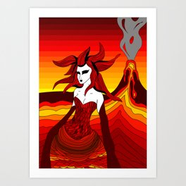 Elements - Fire Art Print