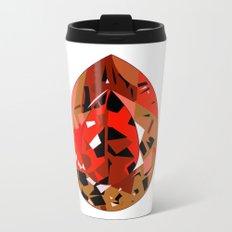 GEMS - red , velvet , orange , rubin Metal Travel Mug