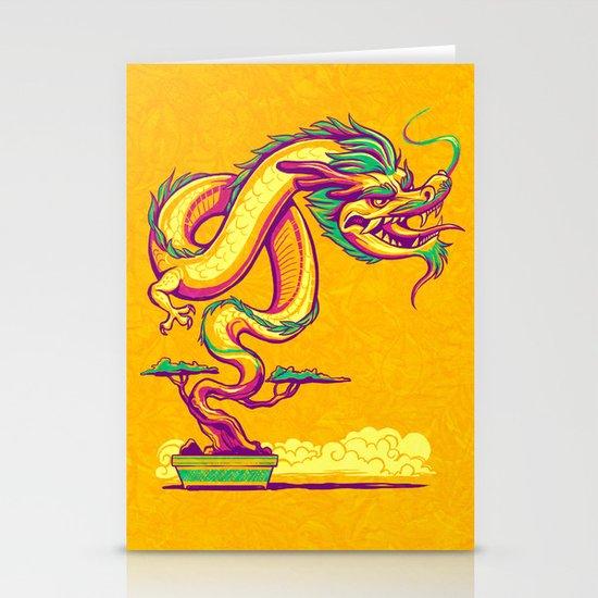 Bonsai Dragon Stationery Cards