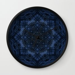 Night Hike Fractal Wall Clock
