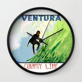 Ventura County Line Wall Clock