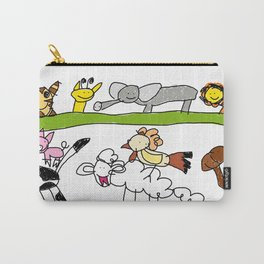 CuteAnimals Carry-All Pouch