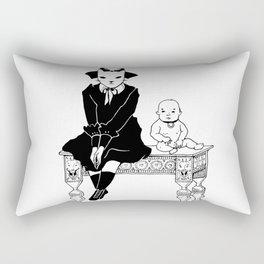 five o'clock sadness Rectangular Pillow