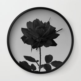 -Vibrant Darkness Wall Clock