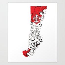 Blossoming Bodies #2 Art Print