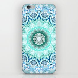 Snow Queen Mandala  iPhone Skin