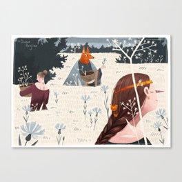 Midsummer II Canvas Print