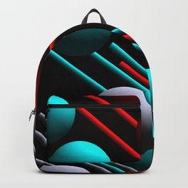 balls and 3 colors Backpack