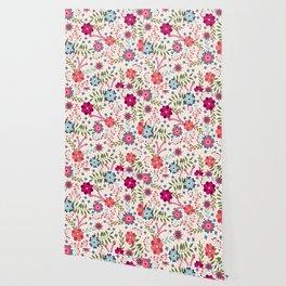 Beautiful Flower Pattern Art Wallpaper