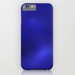 Blue Inspired 8 by Kristalin Davis iPhone Case