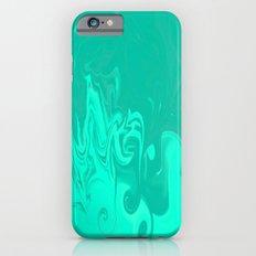 Ocean swirls iPhone 6s Slim Case