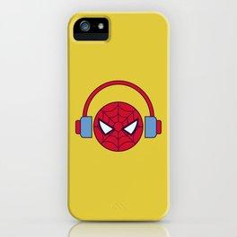 Spider-man Homecoming Minimalist Poster - Headphones iPhone Case