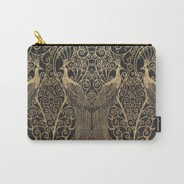 ART DECO PEACOCKS Carry-All Pouch