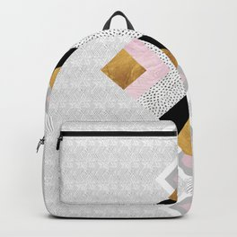Rhombus geometric Backpack
