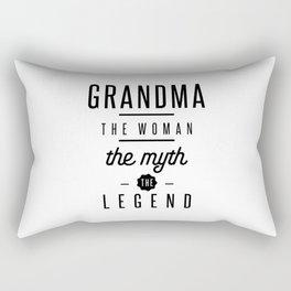 Grandma The Woman The Myth The Legend Rectangular Pillow