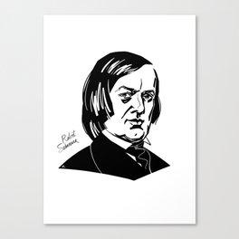 Robert Schumann Canvas Print