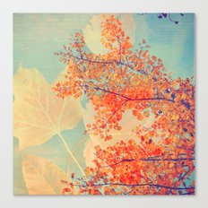 Leaves of Autumn Canvas Print
