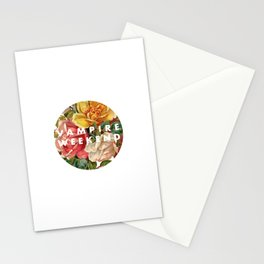 Vampire Weekend vintage flowers Stationery Cards