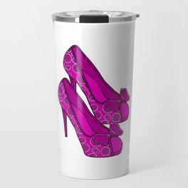 Chic Shoes Travel Mug