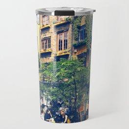 London's Cheerful Alley. Travel Mug