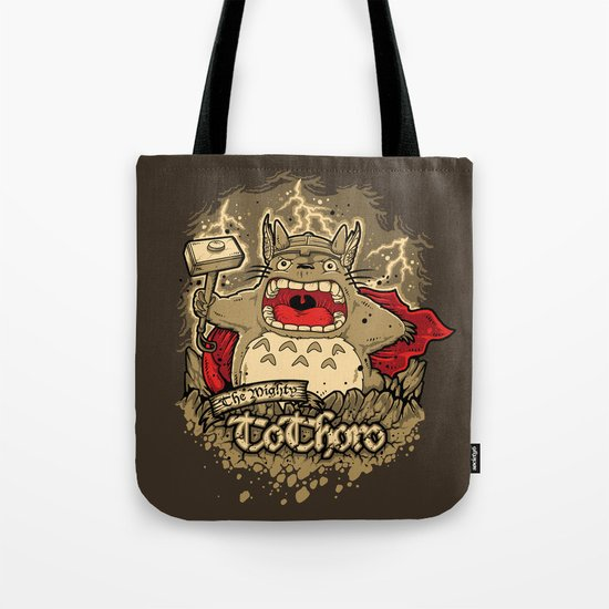 THE MIGHTY TO-THOR-O Tote Bag
