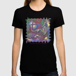 DRAGON WATER ABSTRACT T-shirt