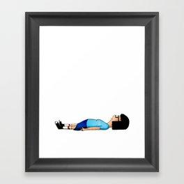 Uhhhhh Framed Art Print