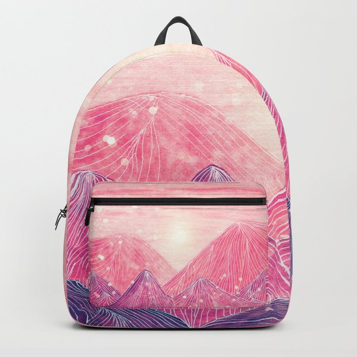 Lines in the mountains XXI Backpack