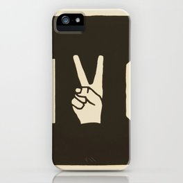 NYC Peace Sign (Color) iPhone Case