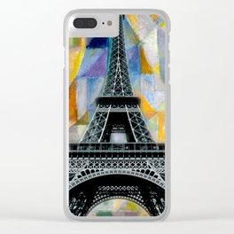 Paris, je t'aime Clear iPhone Case