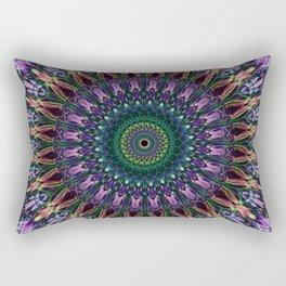 Colorful mandala design Rectangular Pillow
