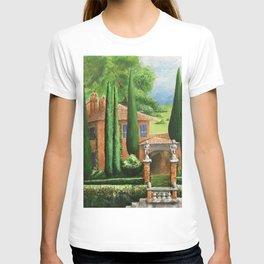 Villa of Lago d' Como T-shirt