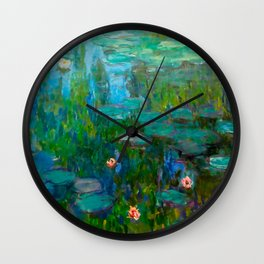 Water Lilies by Monet Wall Clock