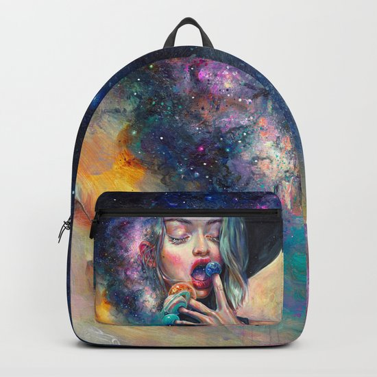 BLACK HOLE IN THE MILKY WAY Backpack