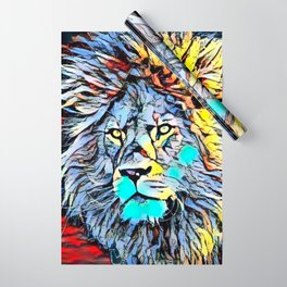 Color Kick Lion King Wrapping Paper