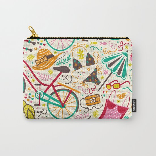 Seaside Cycle Carry-All Pouch