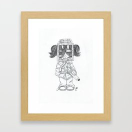 Comitted Framed Art Print
