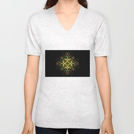 The Evening Star Merry Christmas and Happy New Year !! Unisex V-Neck