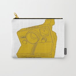 yellow camera, camera, vintage camera, vintage, icon, 70s Carry-All Pouch