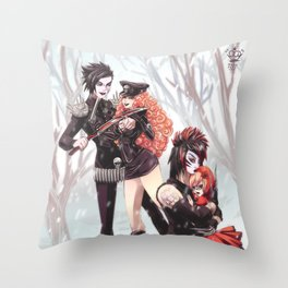 Blood on the Dance Floor - Unforgiven Throw Pillow