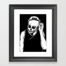 dead cozy boy Framed Art Print