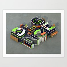 DLGNCE Art Print
